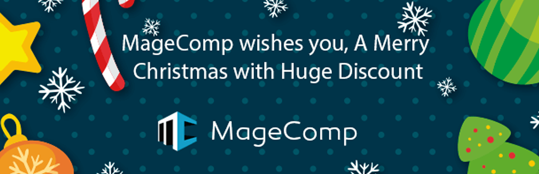MageComp wishes you A Merry Christmas with Huge Discount