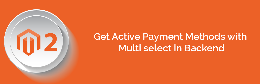 Get Active Payment Methods with Multi select in Backend