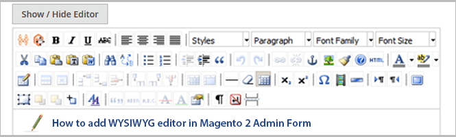 img_How to add WYSIWYG editor in Magento 2 backend