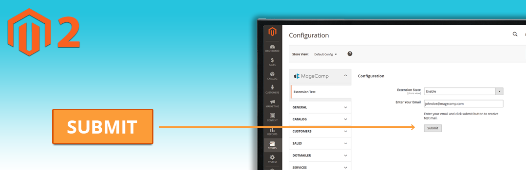 How to Add a Button in Magento 2 Stores Configuration with Custom Action
