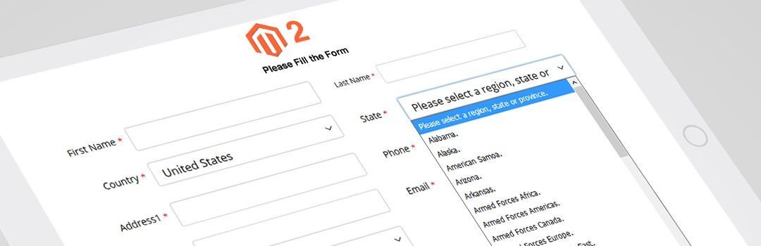 How to Create Country & State Dropdown in Magento 2 Custom Frontend Form