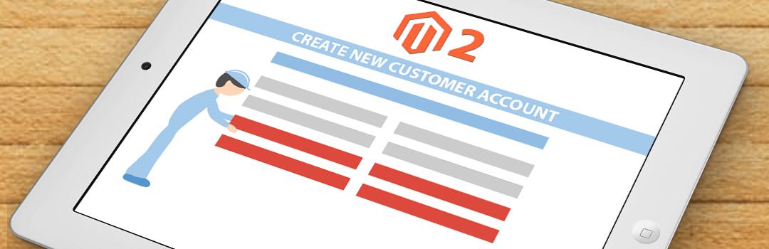 Magneto2 customer address field on customer sign up form