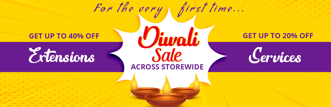 This Diwali Enjoy up to 40 off across all Magento Paid Extension Services
