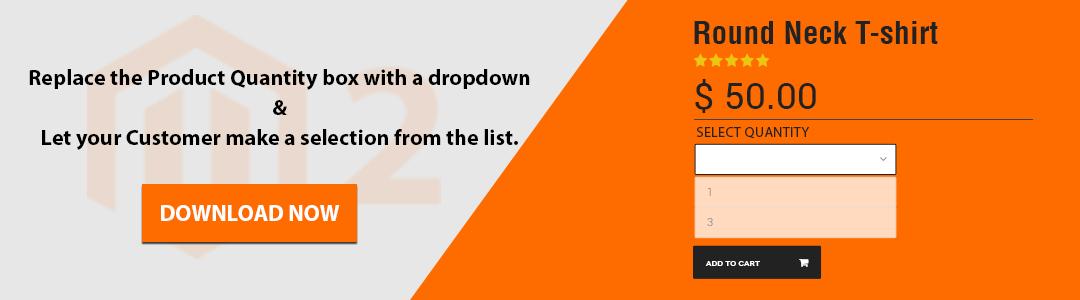 Quantity Dropdown CTA