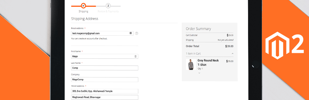 How to Auto filled Checkout shipping address form fields in