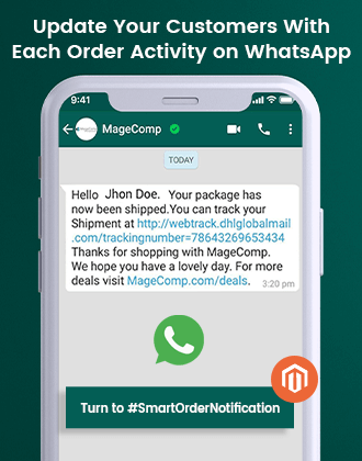 magento 2 WhatsApp Order Notification