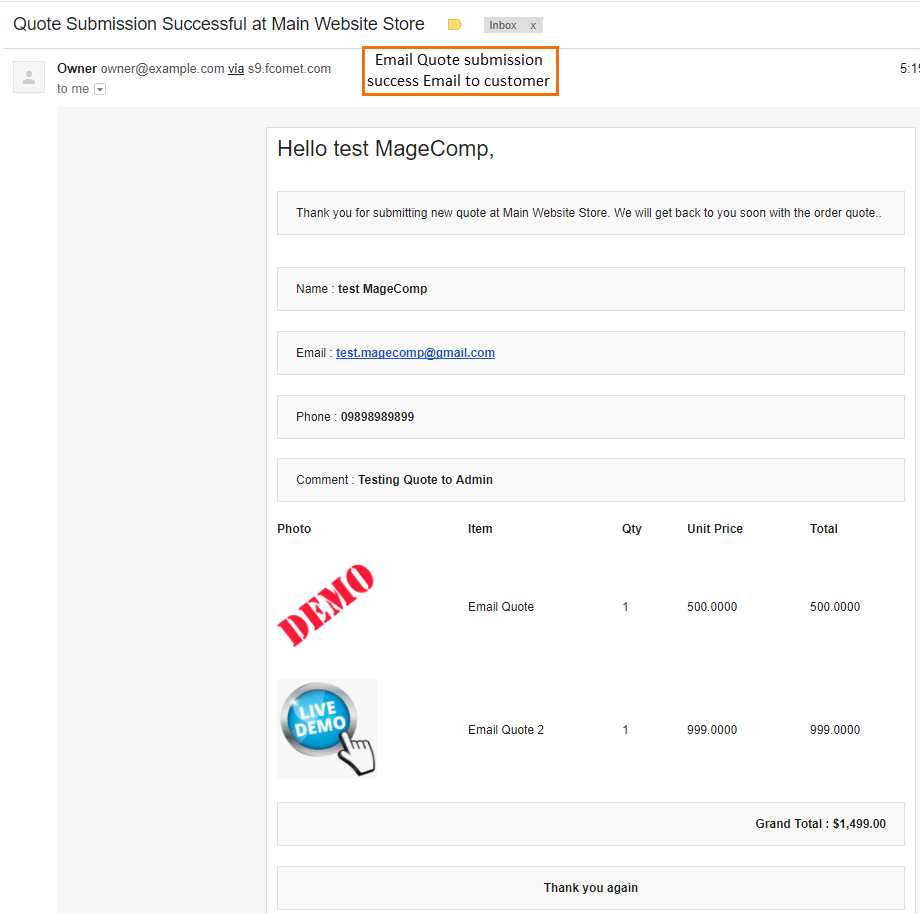 magento email quote magento cart to quote extension magecomp