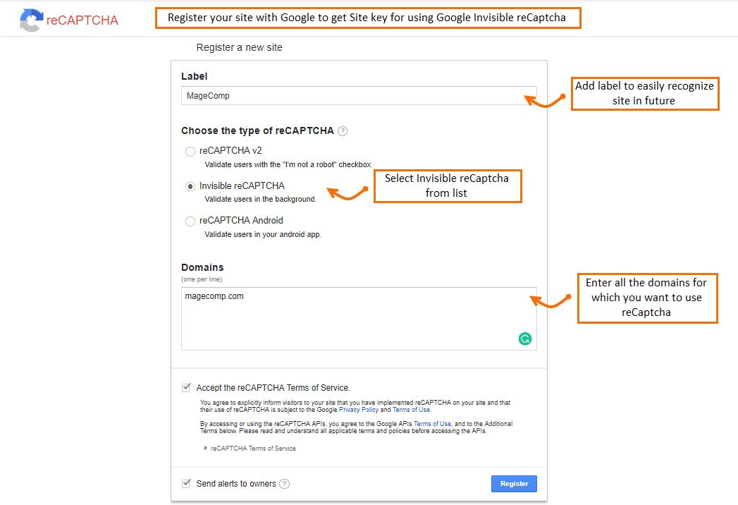 registration-for-google-invisible-recaptcha