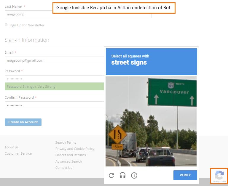 google-recaptcha-on-bot