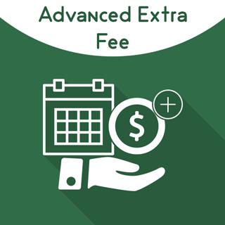 Magento 2 Advanced Extra Fee