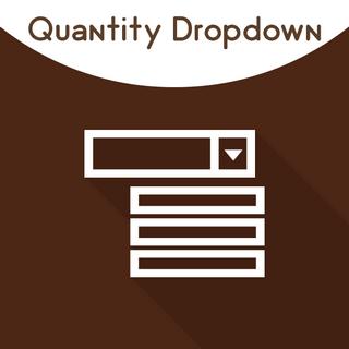 Magento 2 Quantity Dropdown