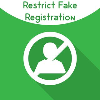 Magento 2 Restrict Fake Registration