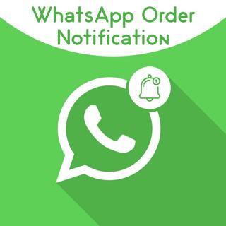 Magento 2 WhatsApp Order Notification