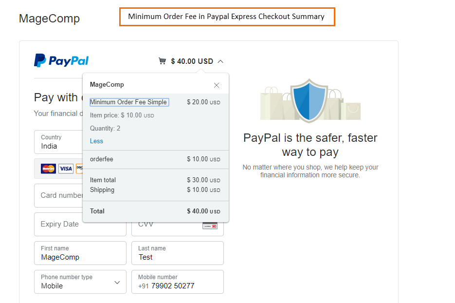 minimum-order-fee-in-paypal-express-checkout-summery