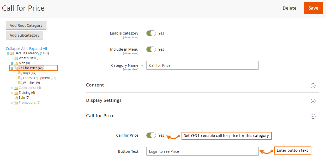 category-specific-cfp-settings