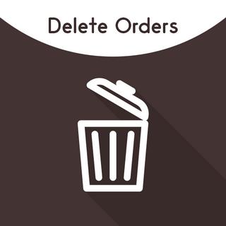 Magento 2 Delete Orders