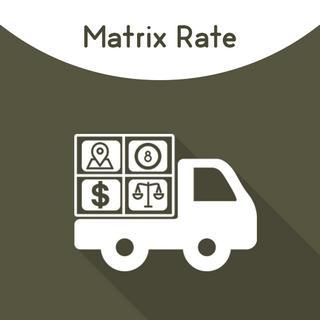 Magento 2 Matrix Rates