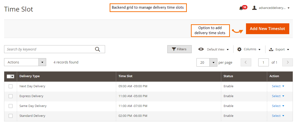 backend_grid_to_manage_time_slots