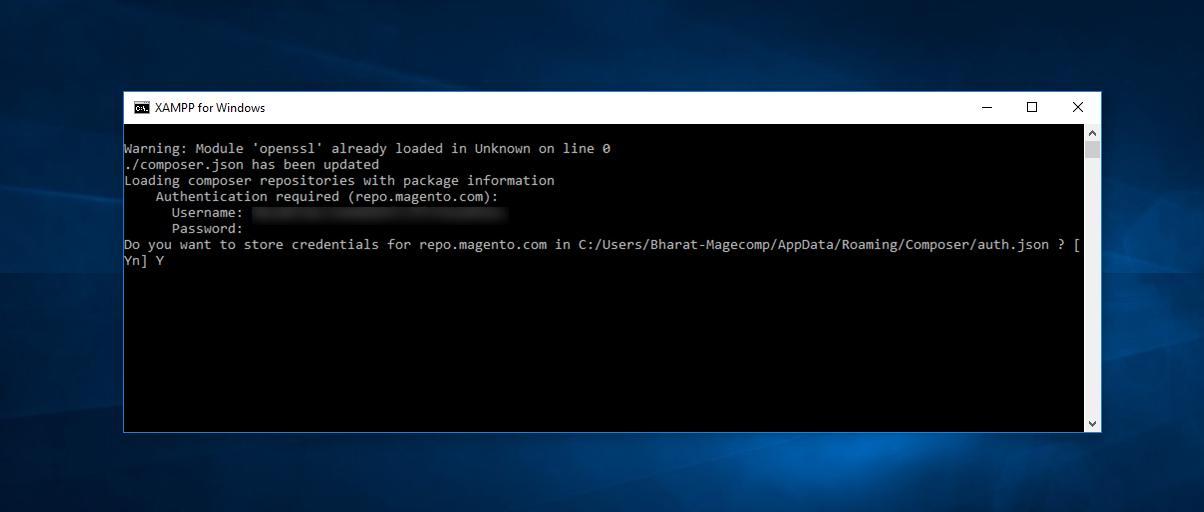 Composer API Command