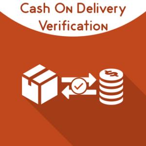 Cash on delivery verification