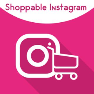 Magento 2 Shoppable Instagram