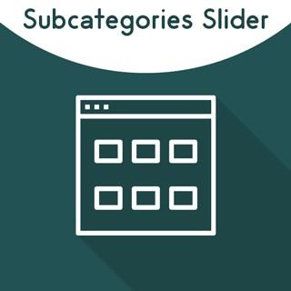 Magento 2 Subcategories Slider