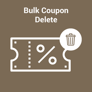 Bulk Coupon Delete for Magento 2