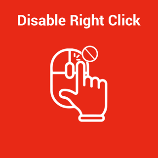 Magento 2 Disable Right Click Extension